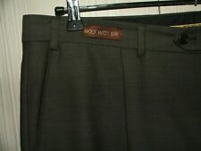 """W38"""" L27"""" - COLLEZIONE -  Wool & Silk - Men's Trousers - Flawless Condition"""