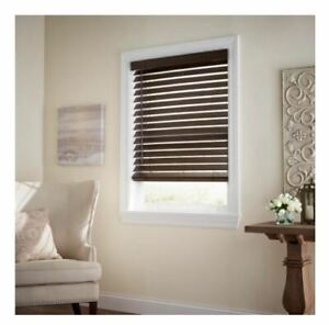 "🎆Assorted Size🎆 Home Decorators Espresso  Cordless 2-1/2"" Premium Blind"