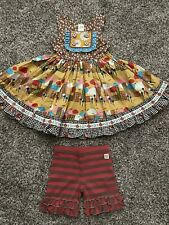 NWOT Wildflowers Clothing Dress And Shorties Outfit Size 4