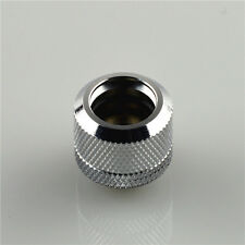 Olike 14MM G1/4 coupling fitting for OD 14MM Rigid tubing water cooling Silver