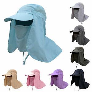 2020 Quality Men Womens Legionnaire Sun Hat Neck Throat Flap Cover UV Protection
