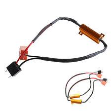 2pcs Car H7 LED DRL Fog Light Load Resistor Canceller Decoder 50W 6Ohm