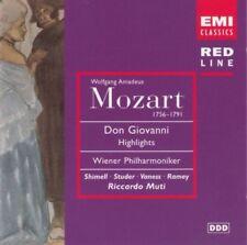 Mozart - Don Giovanni (Riccardo Muti) Highlights - CD -