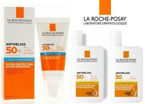 LA ROCHE-POSAY Anthelios SPF 30 or SPF 50 Invisible Fluid or Cream - NEW BOXED