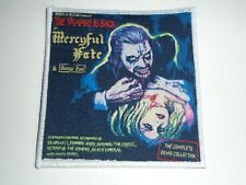 MERCYFUL FATE THE VAMPIRE IS BACK WOVEN PATCH