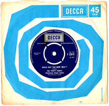 """Poppy Family. which way you goin 'Billy?/ENDLESS SLEEP. UK Orig 7"""" & CO/SL. EX"""