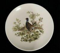 Rare Vintage Schumann Salad Plate With Pheasant - Bavaria Germany