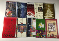 Natale 10 biglietti misti auguri natalizi con busta     (10)