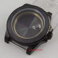 40mm sapphire glass ceramic PVD bezel Watch Case fit eta 2824 2836 MOVEMENT