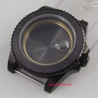 40mm sapphire glass ceramic PVD bezel Watch Case fit eta 2824 2836 MOVEMENT