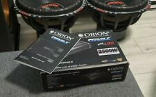 Orion CBT2500.2 - 2 Channel Car Amplifier 450W RMS, like pioneer, edge, vibe,