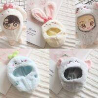 20cm KPOP EXO Jimin Wanna One Plush Doll's Clothes Rabbit Mouse Clothes【no doll】