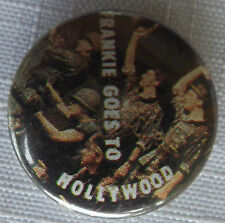 """FRANKIE GOES TO HOLLYWOOD Old Vtg 1980`s  25mm-1"""" Button Pin Badge not patch"""
