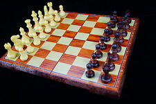 Chess, 12 inch foldable chessboard, chess pieces