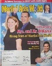 1/07 MARTIAL ARTS WORLD MAGAZINE DAN O'MARRA MIKE BUGG BLACK BELT KARATE KUNG FU