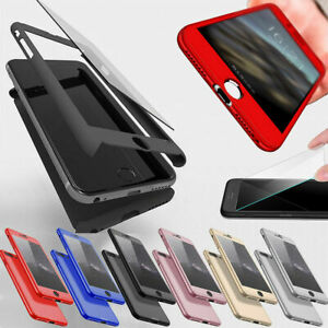 Case for iPhone 7 Plus iPhone 8 Plus Shockproof 360° Full Body Cover Protective