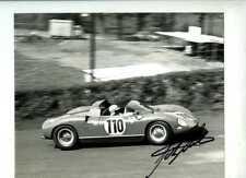 John Surtees Ferrari 250 P Nurburgring 1000 km 1963 Firmado fotografía 3