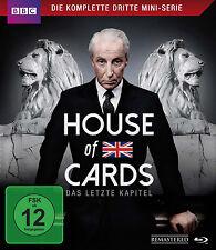 Blu-ray * HOUSE OF CARDS - DIE KOMPLETTE DRITTE MINI-SERIE # NEU OVP