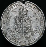 1911 | George V Queen Mary 'B. Eyres-Monsell M.P.' Coronation Medal | KM Coins