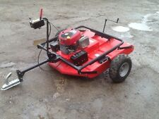 quad x trailed flail topper compact tractor