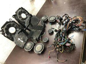 BMW OEM E92 3 Ser HiFi Harman Becker Sound System Speakers Subwoofers Tweeters