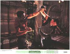 COMMANDO LOBBY CARD size 11x14 Inch MOVIE POSTER 2 Card's ARNOLD SCHWARZENEGGER