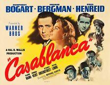 "Casablanca lobby card  Humphrey Bogart 11"" x 14"""