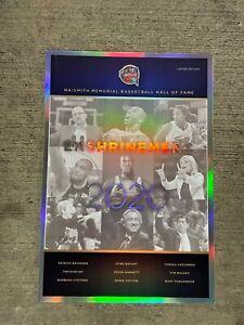 2020 NBA Hall of Fame Induction Poster Kobe Bryant Black Mamba Garnett Duncan