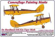 AML Models 1/72 CAMOUFLAGE PAINT MASKS DE HAVILLAND DH.82A TIGER MOTH