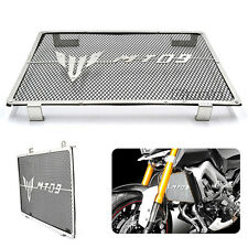 Radiator Grille Guard Cover Protector For Yamaha MT09 FZ-09 2014-2017 2016 Black