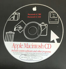 Apple Macintosh Lc 580/Lc 630 Install System And Other Programs.Ssw V7.5 Cd V1.1
