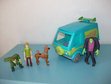 16.5.15.10 Lot Scooby Doo Mystery Machine van Camionnette 4 figurines