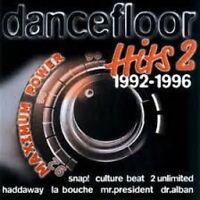 Dancefloor Hits 1992-1996 Vol.2 (Polystar) Snap, Culture Beat, Haddaway.. [2 CD]