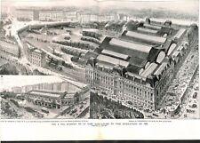 Panorama de la gare Saint-Lazare à Paris en 1866 Le goulot des ILLUSTRATION 1942