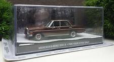 James Bond 007 Mercedes Benz 200 D For your Eyes only 1:43 unbespielt NEU OVP