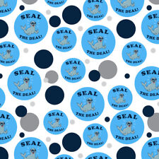 Seal The Deal Cool Funny Humor Premium Gift Wrap Wrapping Paper Roll