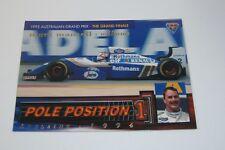 1995 Futera Australian F1 Grand Prix Pole Position card #PP10 Nigel Mansell