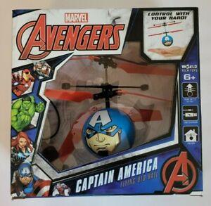 Marvel Avengers Captain America Flying UFO Ball - NIB