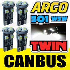 4x 8 SMD WHITE CANBUS ERROR FREE 501 SIDELIGHT BULBS KAWASAKI Z 750