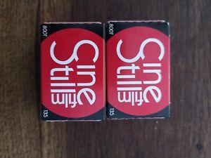 Cinestill 800t 35mm film 2 Rolls Exp 8/22