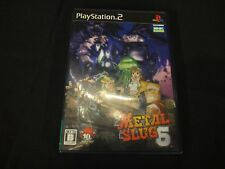 Metal Slug 5  (Sony PlayStation 2, 2005) Japan Import