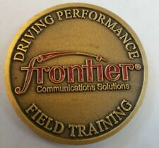 FRONTIER COMMUNICATIONS SOLUTIONS FIELD TRAINING Challenge Coin