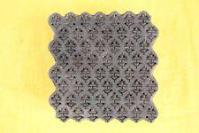Vintage Indian Wooden Block Floral Print Woodblock Handcarved Textile Stamp fine