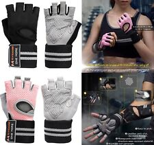 Gym Half Finger WorkOut Gloves Sport Weight Lifting Exercise Fitness Training
