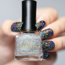 6ml BORN PRETTY Sequins Top Coat Glitter Holographicss Holo Nail Polish