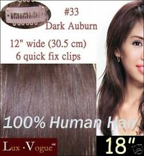 1 Pc Remy Quick Fix Clip In Human Hair Extensions #33