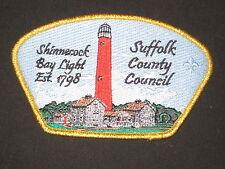 Suffolk County Council sa74 CSP.  Shinnecock Bay Light house