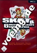 SKAT & 6 WEITERE BELIEBTE KARTENSPIELE Doppelkopf Schafkopf Schwimmen (PC) - NEU