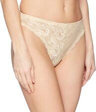 Cosabella 177575 Womens High Leg Floral Lace Bikini Underwear Blush Size Large