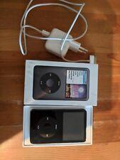 Apple iPod classic 5. Generation Schwarz (80GB), in gutem Zustand